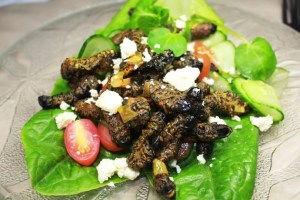 Street-Food-Around-the-World-Africa-Fried-Mopani-Worms