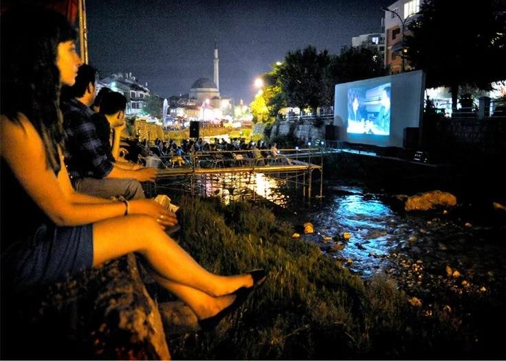 The Riverbed Cinema in Prizren, Kosovo