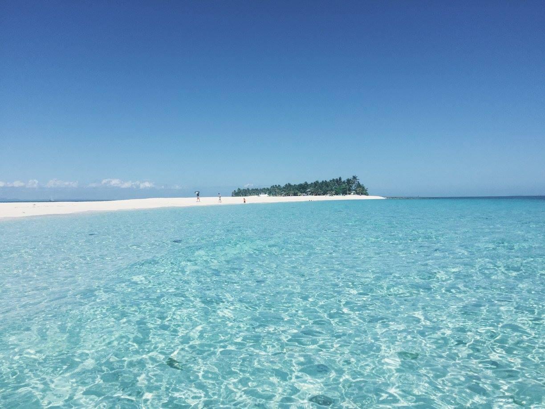 03 Kalanggaman's crystal clear water