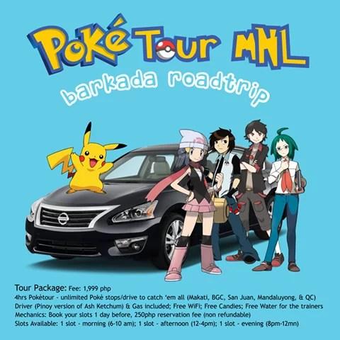 Poke Tour