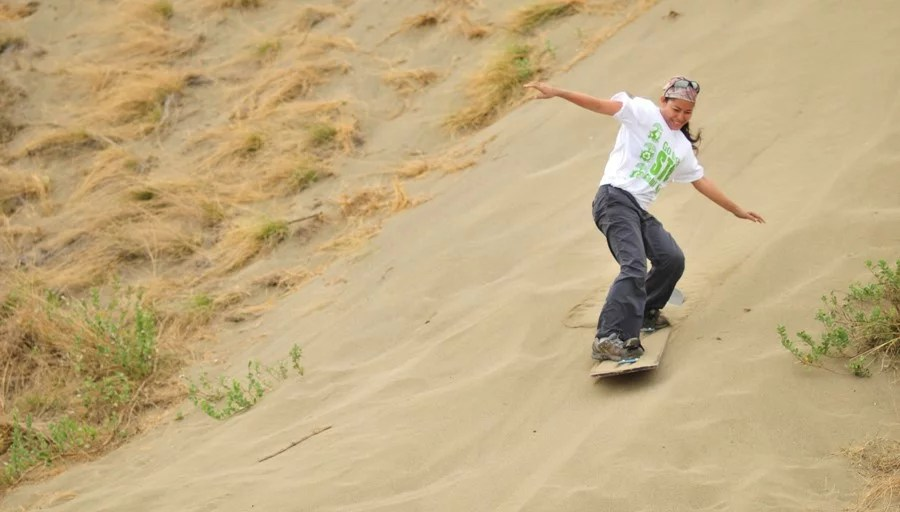 sandboarding in ilocos norte by kara santos