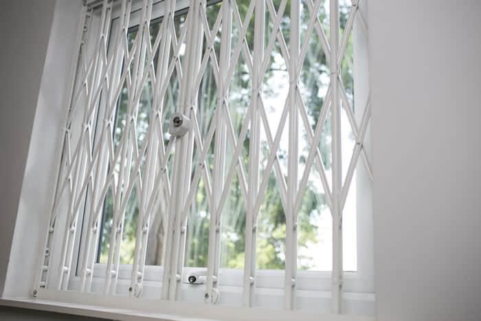 Retractable Window Grilles Window Security Solutions