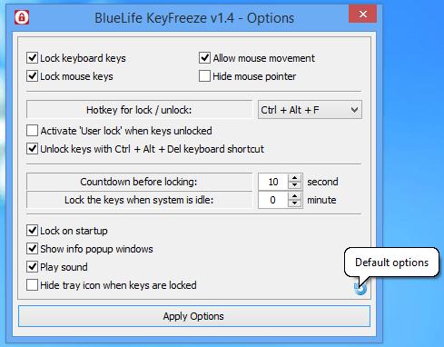 keyboard deactivation on a laptop