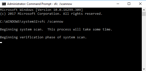 sfc scannow the disc image file is corrupted
