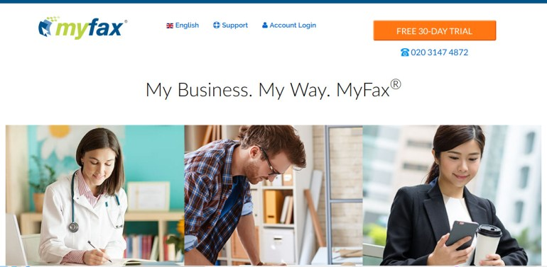 myfax free fax online no credit card