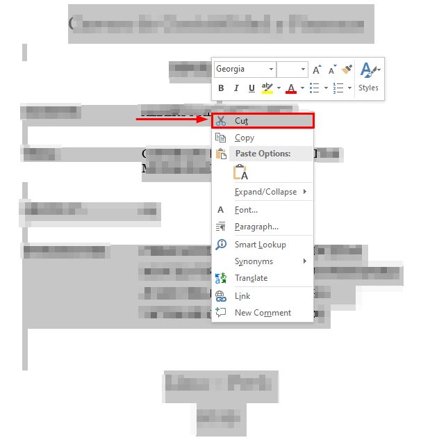 how to move pages in word