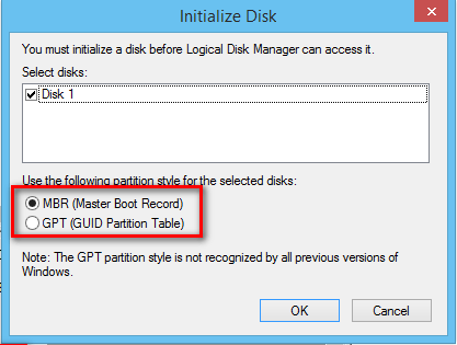 new hard drive