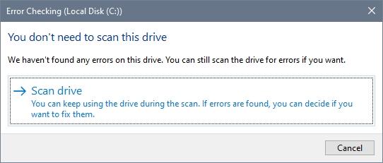 scan drive