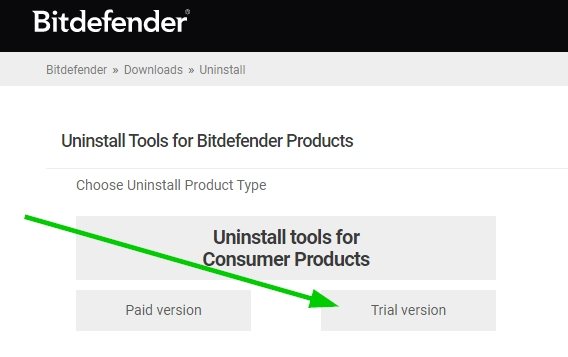 Uninstall tools for Consumer Products
