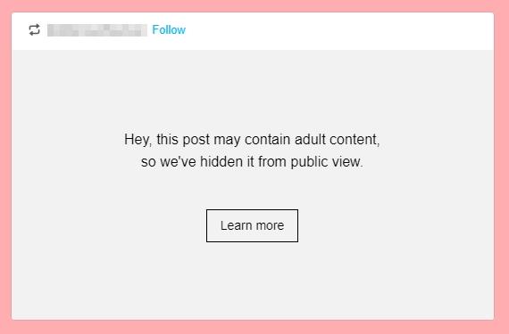 hidden content on tumblr