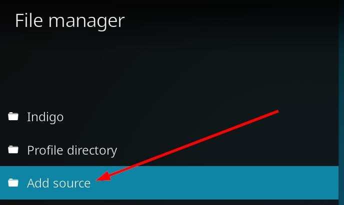 add source kodi