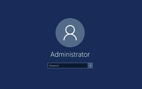 administrator account windows 10