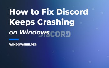 discord keeps crashing
