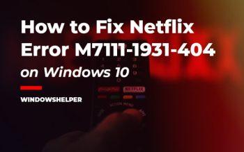 error code m7111-1931-404