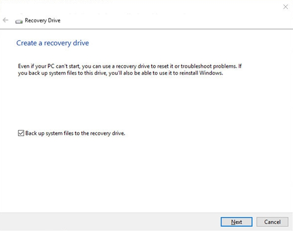 recovery disk tool