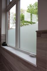 Double window sill in Glacier White