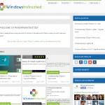 So we began.... WindowsInstructed has been updated! WindowsInstructed has been updated!