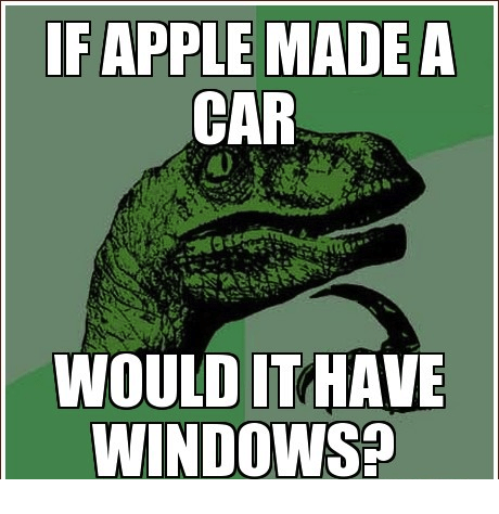 If-Apple-made-a-car Weekly comic: Apple and Windows Weekly comic: Apple and Windows