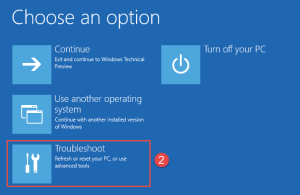 Troubleshoot Deinstall Windows 10 Windows 10