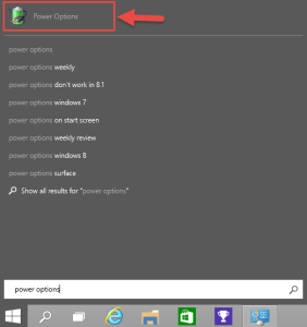 Windows 10 Power Options Search How-to Disable Password After Sleep in Windows 10 password