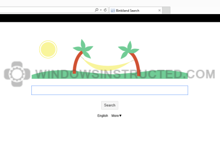 Binkiland Browser Hijacker