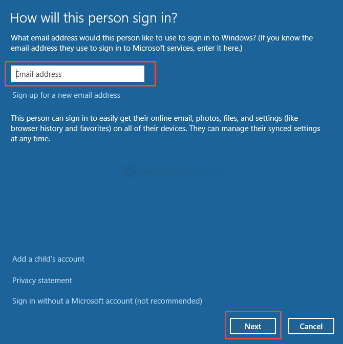 Windows 10: Microsoft Account How to Add an Account in Windows 10 Add an Account