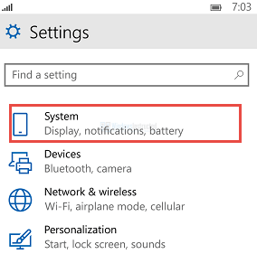 Windows 10 Mobile: System Settings How to Change Phone Name in Windows 10 Mobile Change Phone Name