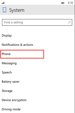 How to change the SIM Code in Windows 10 Mobile