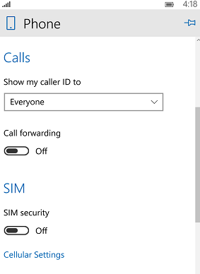 Windows 10 Mobile: SIM Security How to change the SIM Code in Windows 10 Mobile sim code