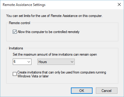 Remote Connection Settings How to Enable / Disable Remote Assistance in Windows 10 remote Assistance in windows 10