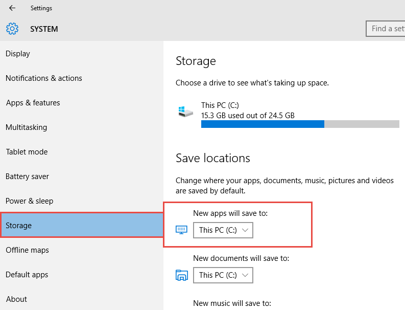 How to Save Windows Store Apps to External Storage in Windows 10 How to Save Windows Store Apps to External Storage in Windows 10 Save Windows Store Apps to External Storage