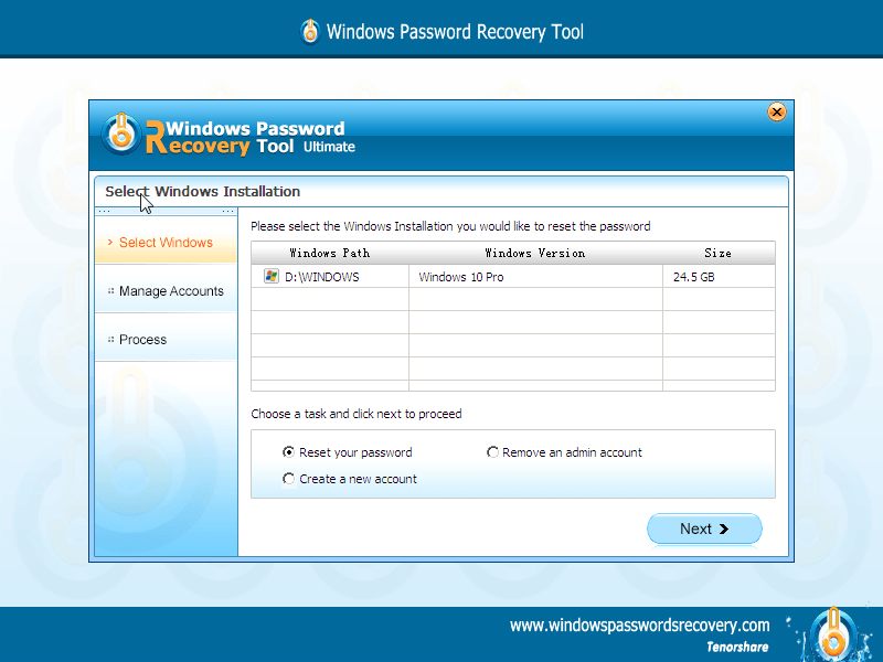 2016-01-18_14-43-35.png Review: Tenorshare Windows Password Recovery windows password recovery