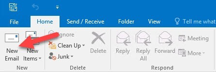 Outlook 2016: Create new Mail How-to: Creating Email Templates in Outlook 2016 Email Templates