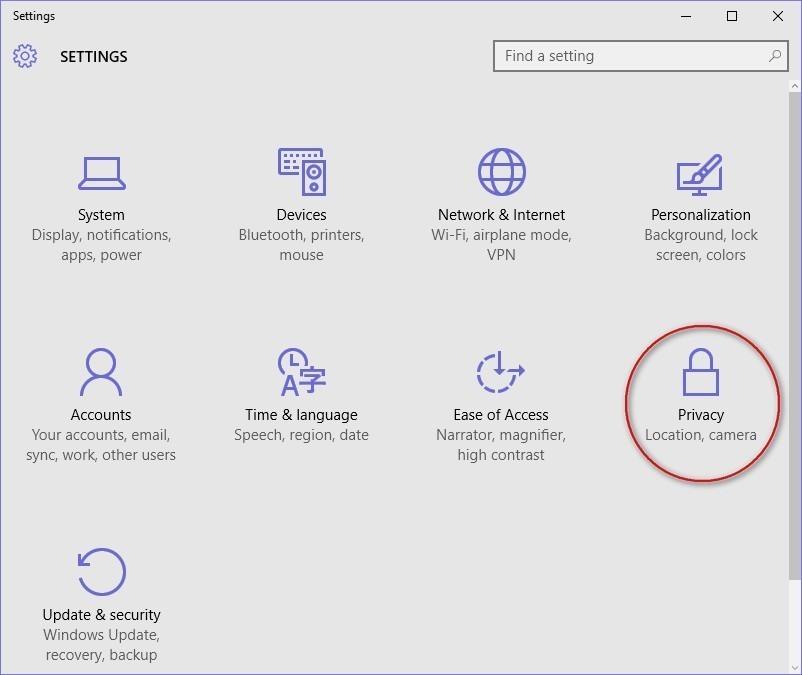 Windows 10 Camera settings - WindowsInstructed