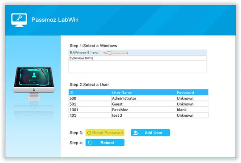 How to Easily Reset Windows 10 Password with PassMoz LabWin how to easily reset windows 10 password with passmoz labwin