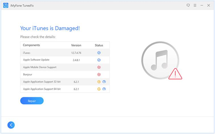 Troubleshooting iTunes issues with iMyfone TunesFix troubleshooting itunes issues with imyfone tunesfix