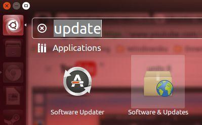 Mencari Software & Updates