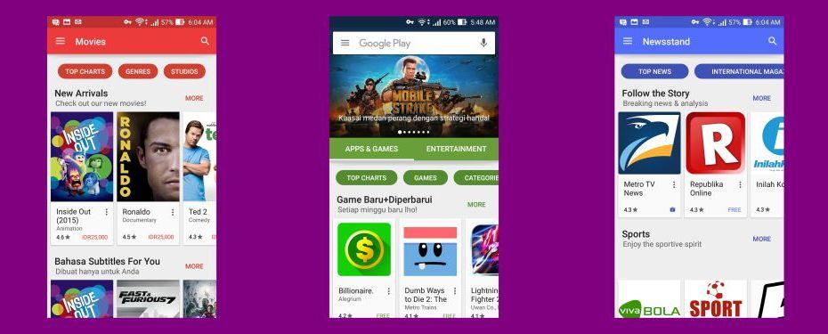 Tampilan Play Store Baru: Yuk Berkenalan