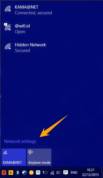 Cara Membuka Network Settings Di Windows 10