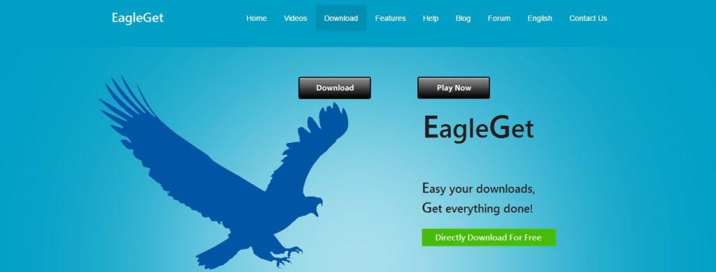 Cara mengunduh EagleGet