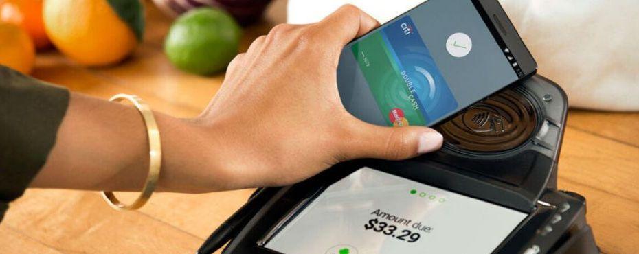 Cara kerja Android Pay
