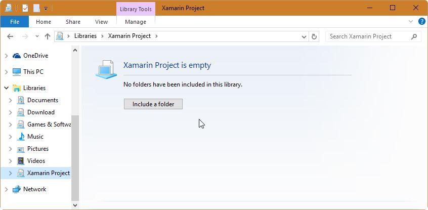 Menambahkan Folder Baru Di Library