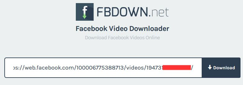 Fb Down Download Video Facebook