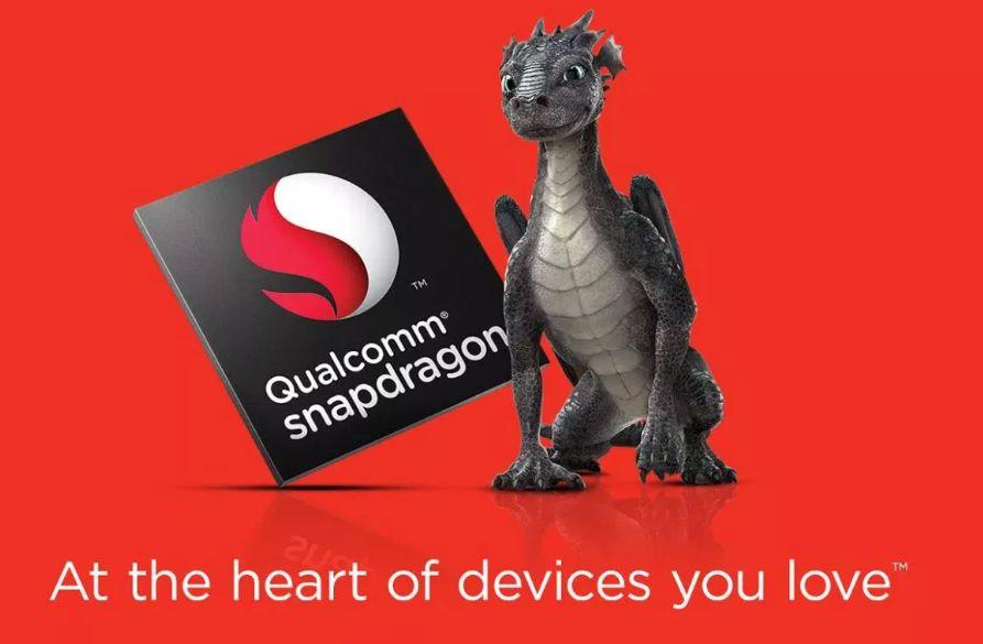 Maskot Qualcomm Snapdragon