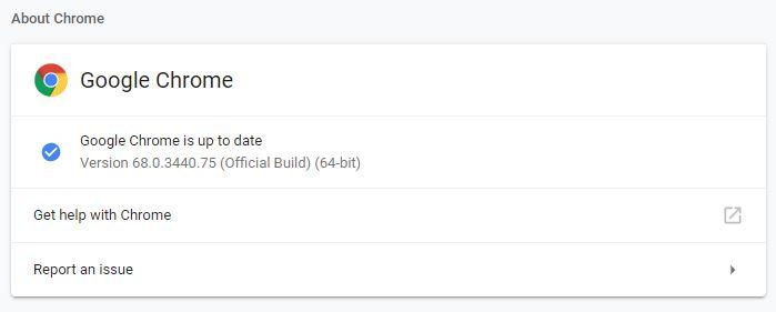 Tentang Google Chrome