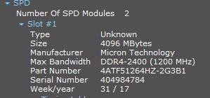 Informasi Detail Ram Speccy