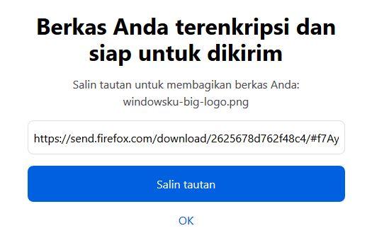 Link Unduh Firefox Send