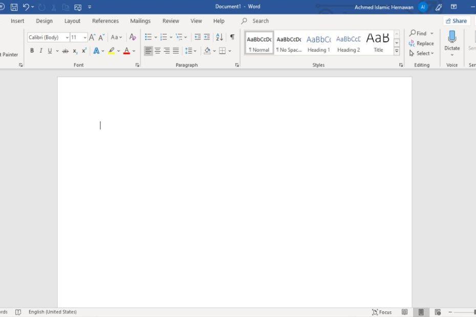 Tips Membuat Dokumen Cepat Microsoft Word Header
