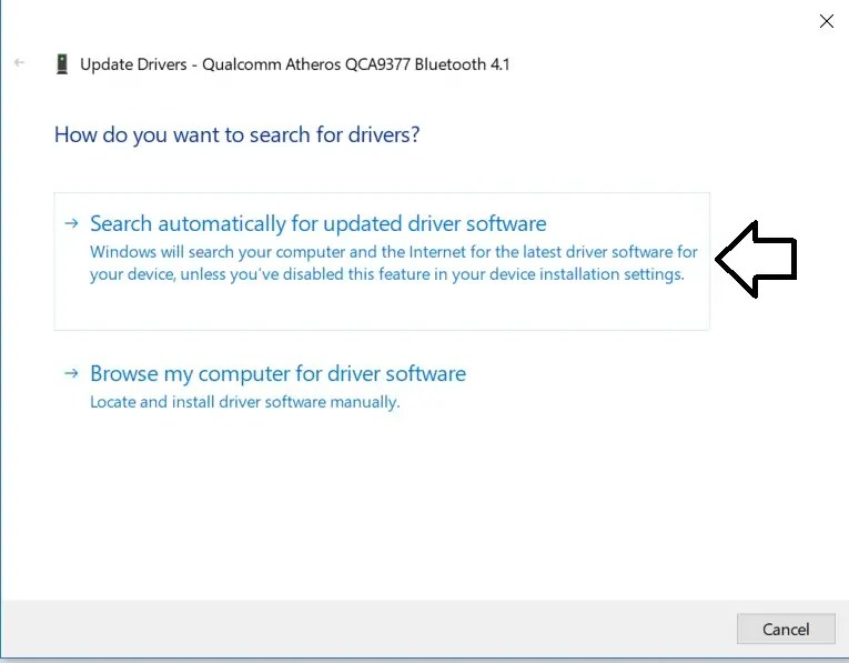 Search for windows updates