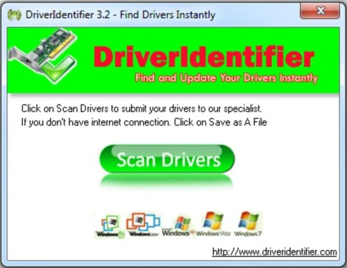DriverIdentifier Driver Updater